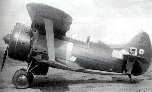 Серийный И-153 с мотором М-63, 1940 год.jpg
