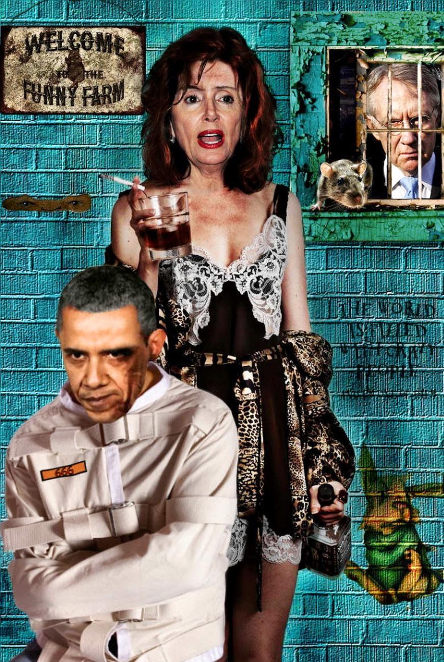 Barack Obama and Nancy Pelosi in the Funny Farm.jpg