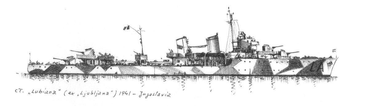 1941 - Cacciatorpediniere 'Lubiana' - ex 'Ljubljana'.jpg