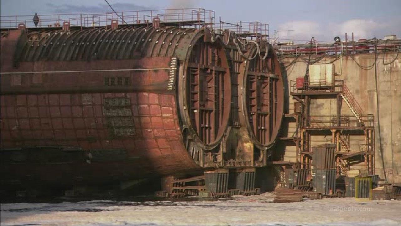утилизация реакторов с подводных лодок