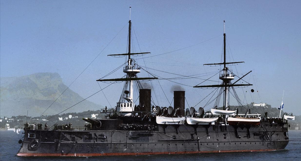 Le cuirassé Imperator Nikolai I avant la guerre
