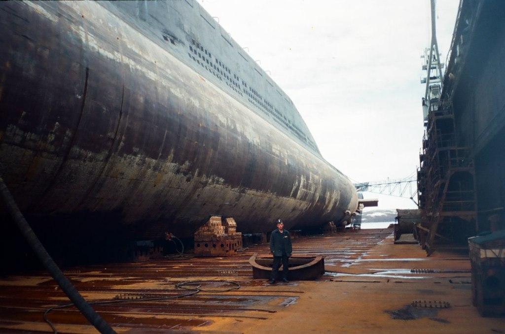базы подводных лодок россии видео