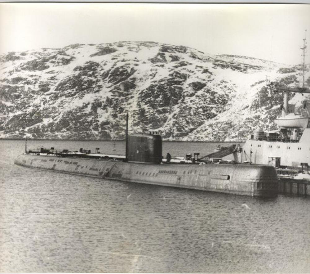 подводная лодка к-675 фото может